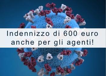 Indennizzo di 600 euro anche per gli Agenti