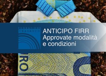 Enasarco, approvate modalità e condizioni per anticipo FIRR