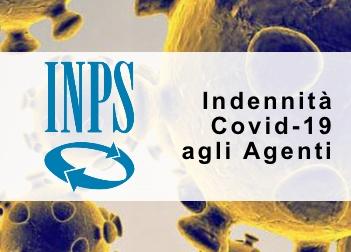 Agli Agenti dall'INPS l'indennizzo Covid-19