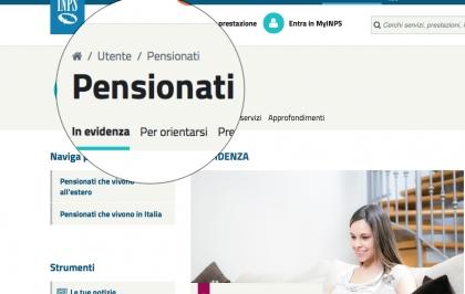 Ricalcolo pensione Inps?