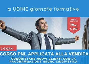 Ad Udine la PNL applicata alla vendita