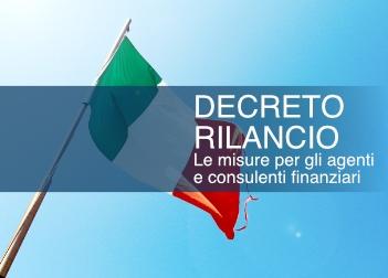Decreto Rilancio - Le misure per gli agenti e consulenti finanziari