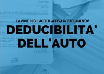 Facciamo sentire la nostra voce, aggiorniamo i valori della deducibilità auto!