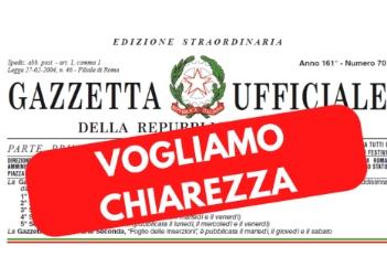Comunicato - Decreto Cura Italia